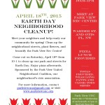 UNC Earth Day Cleanup